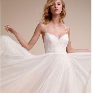 NWT BHLDN Wedding Gown.